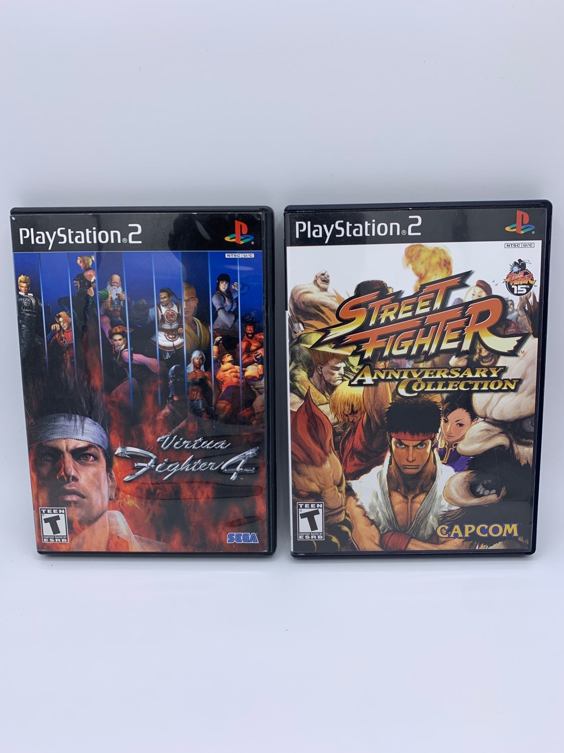Virtua Fighter 4 & Street Fighter Anniv