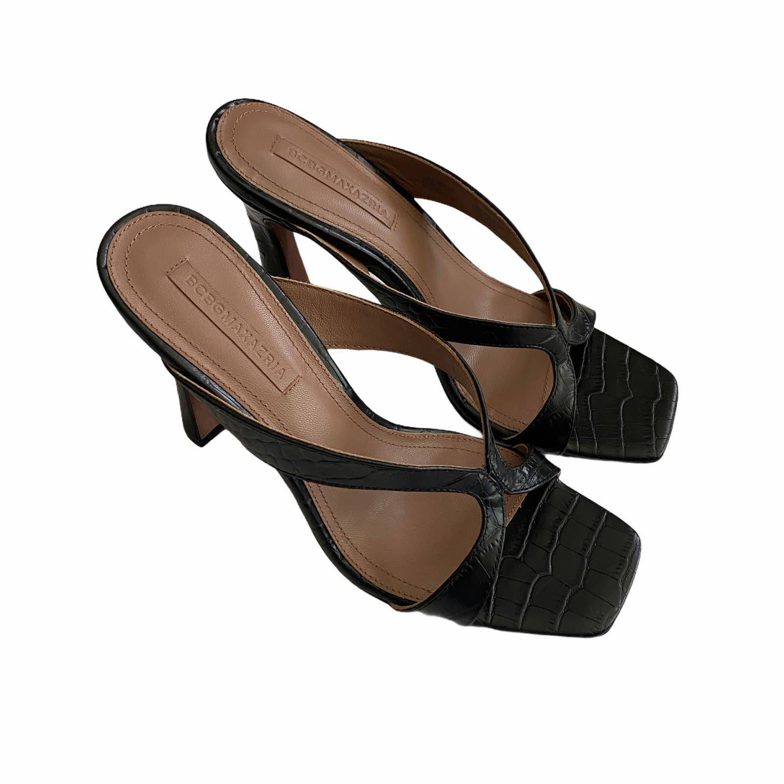 BCBGMAXAZRIA INES  Mule Heeled Sandal 9