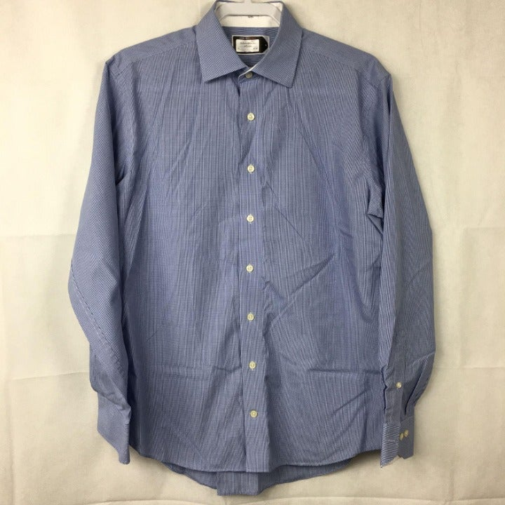 Lorenzo Uomo Non Iron Dress Shirt Sz 16