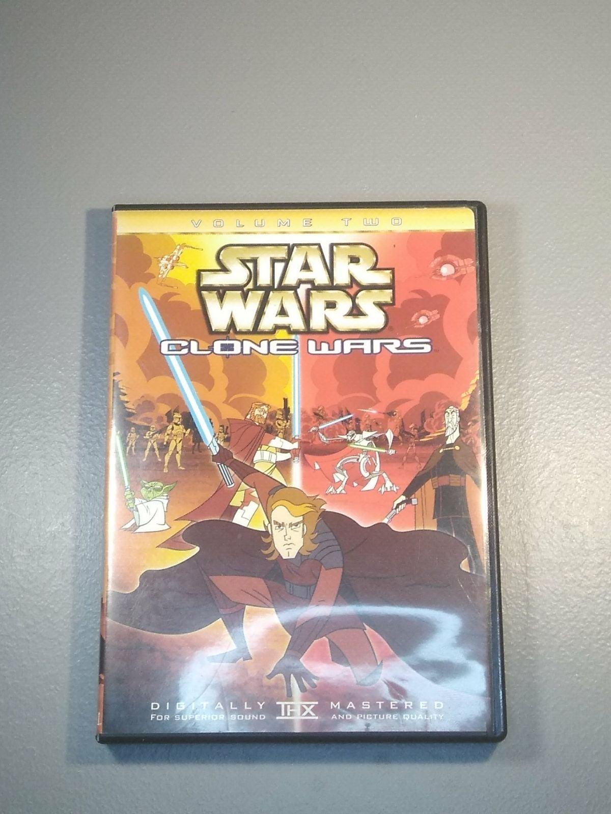 Star Wars: Clone Wars Volume Two DVD