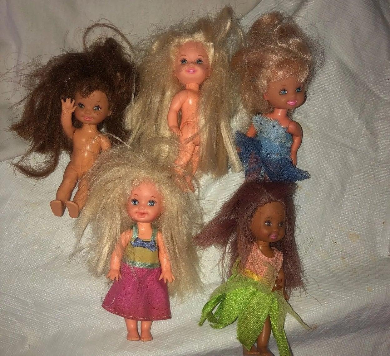 Barbie Kelly mini doll lot