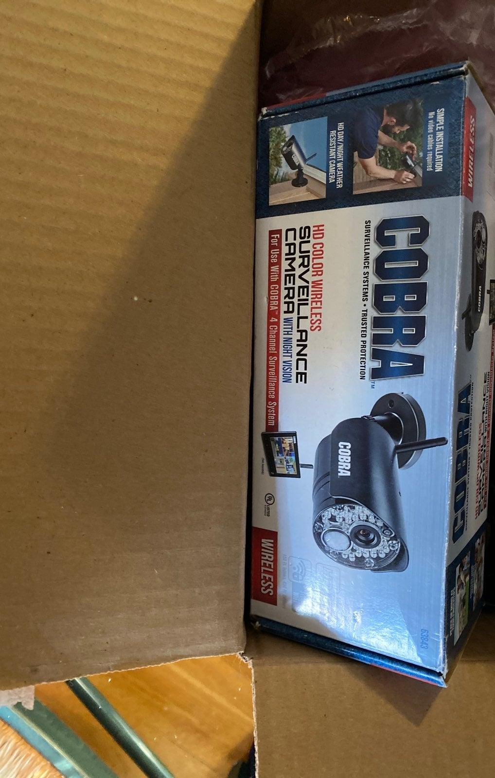 New 2 cobra add on security cameras