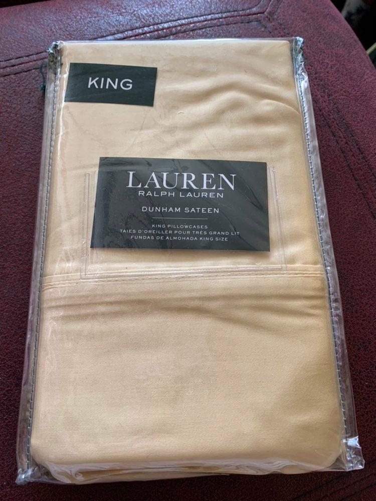 Ralph Lauren King pillowcase-2 packs