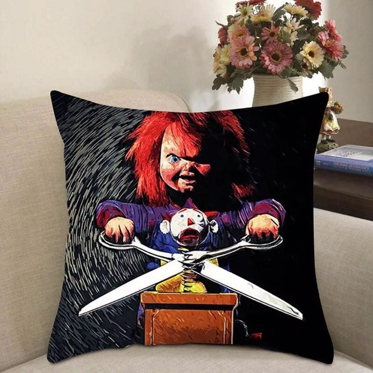 Chucky childs play pillow cover