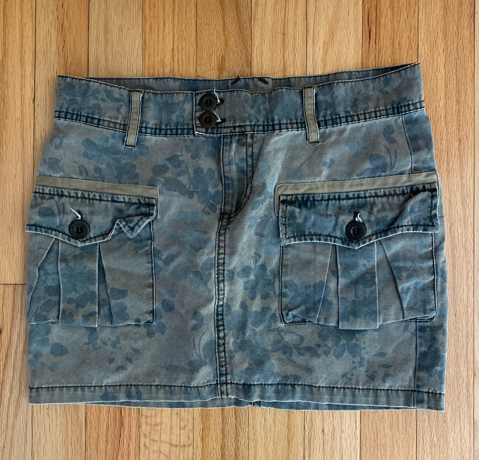 Benetton Denim Skirt