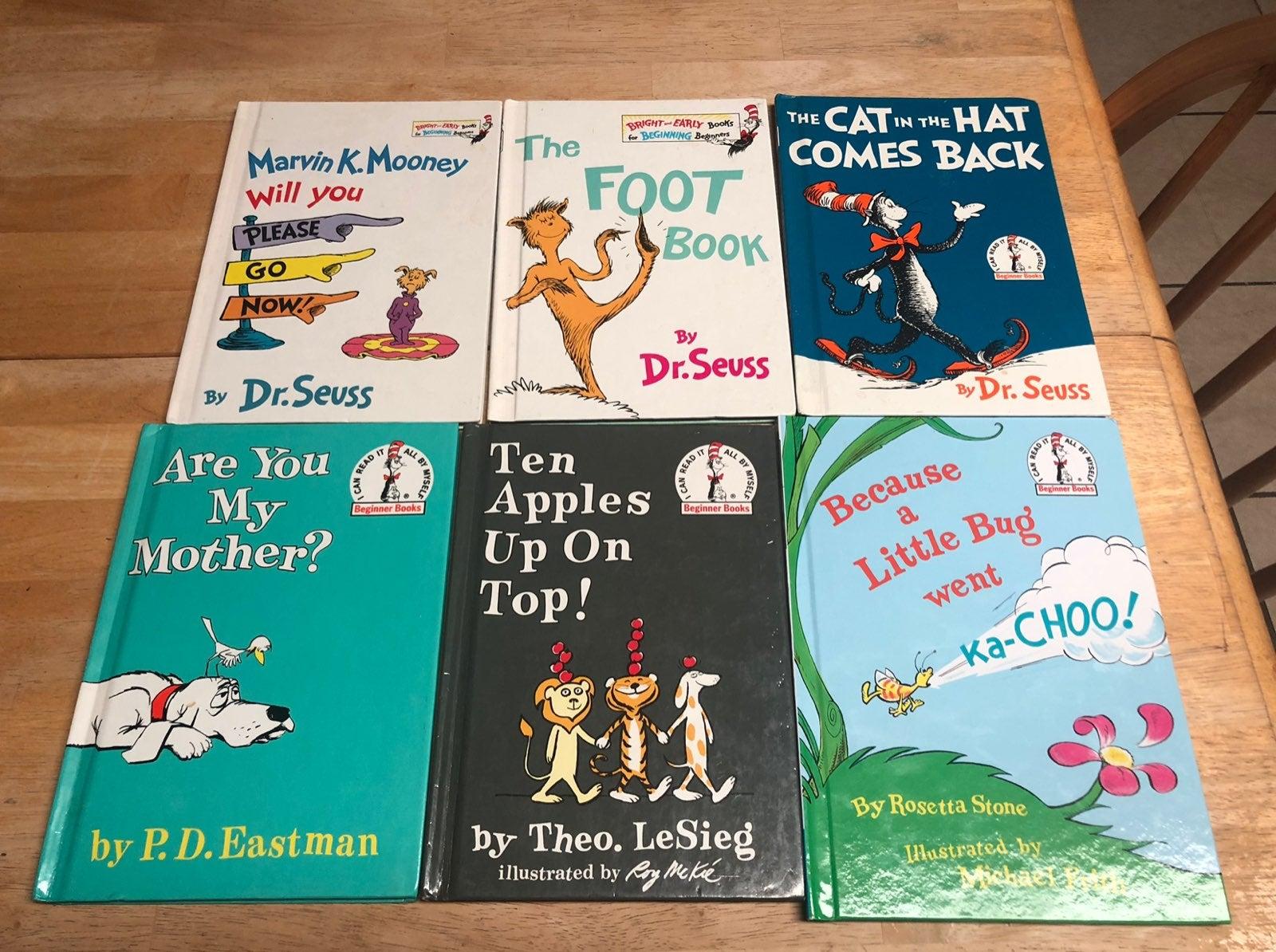 Dr Seuss Children's Book Bundle of Six