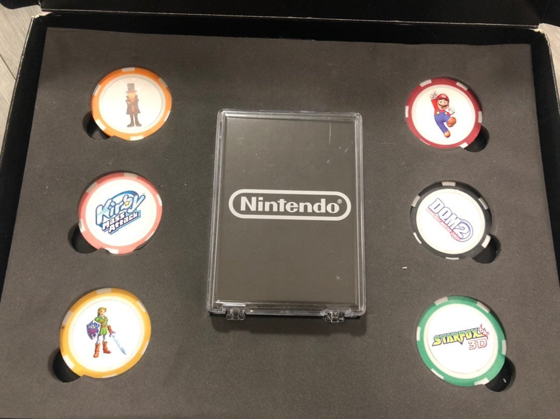 Gamestop Nintendo Poker Set