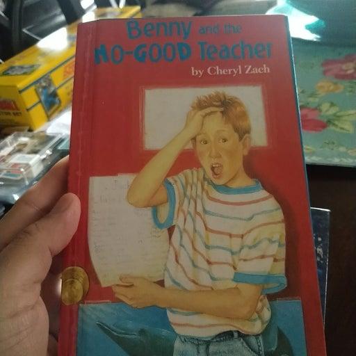 Benny and the no good teacher kids book
