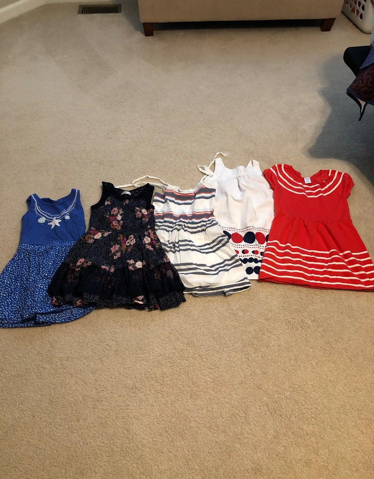 Lot of Gymboree dresses girls size 7