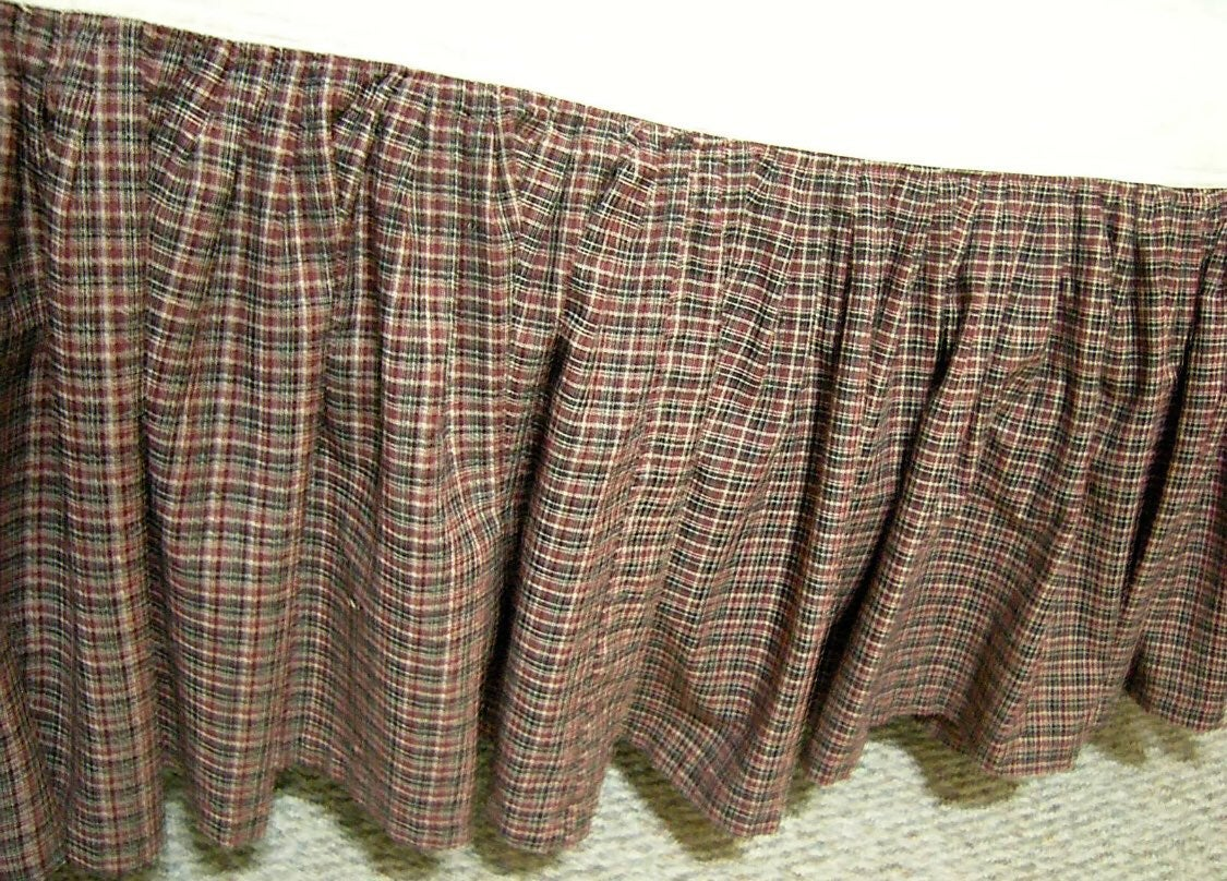Patch magic bed skirt