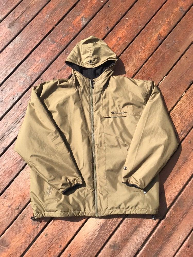 Champion Spellout Reversible Jacket