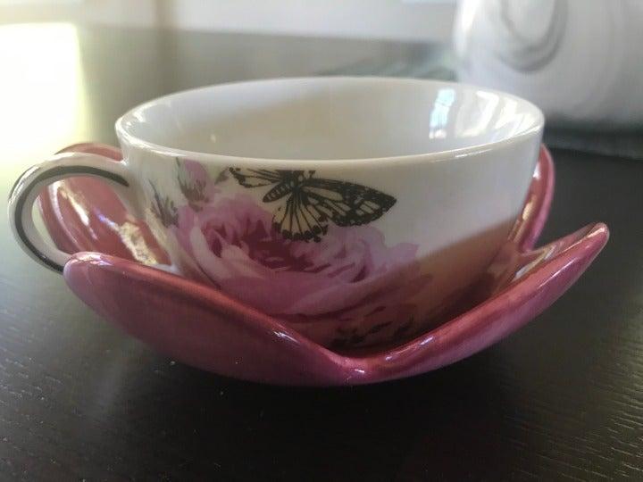 Teacup and saucer (RARE)