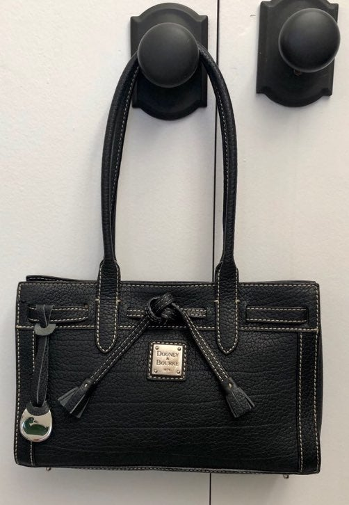 Dooney and Bourke leather tote handbag