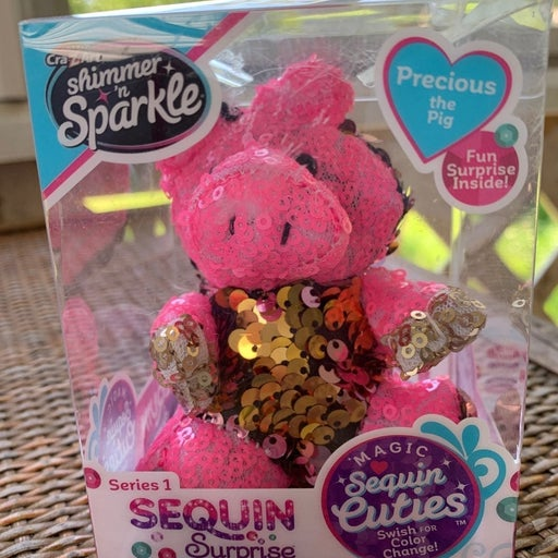 Shimmer N Sparkle Precious The Pig