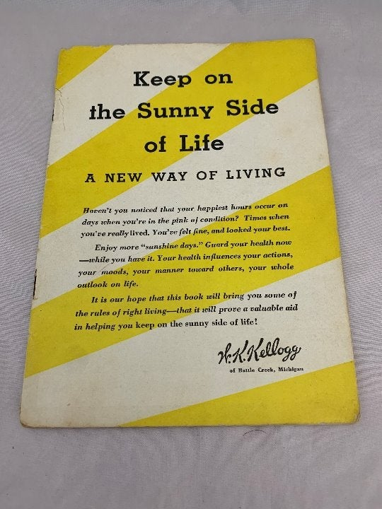 """Kellogg """"A New Way of Living"""" Booklet"""