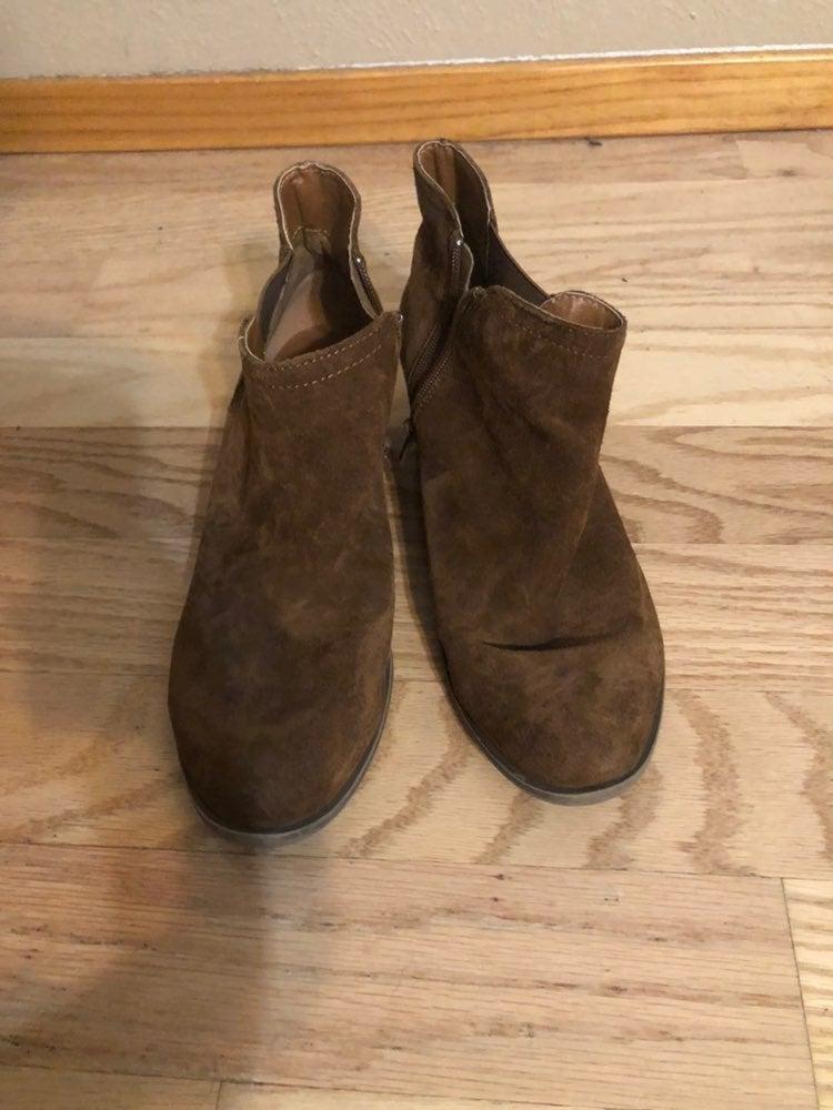 Kensie brown ankle boots