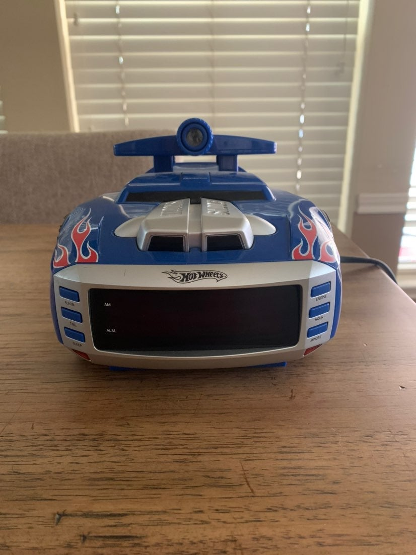 Hot Wheels Alarm Clock