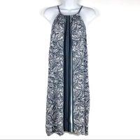 391fff1788f LOFT Leaf Print Halter Dress