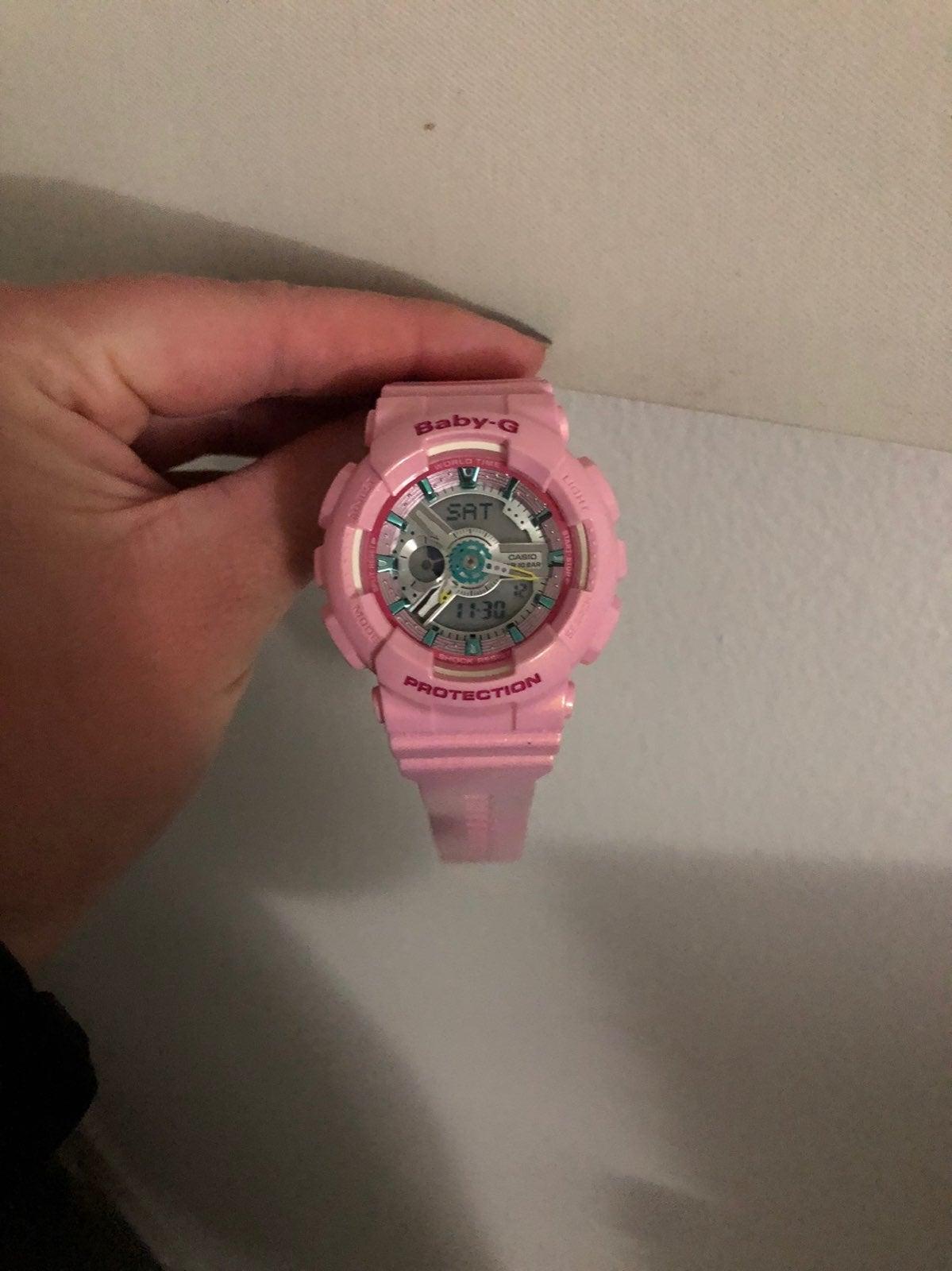 Baby G Shock Watch pink
