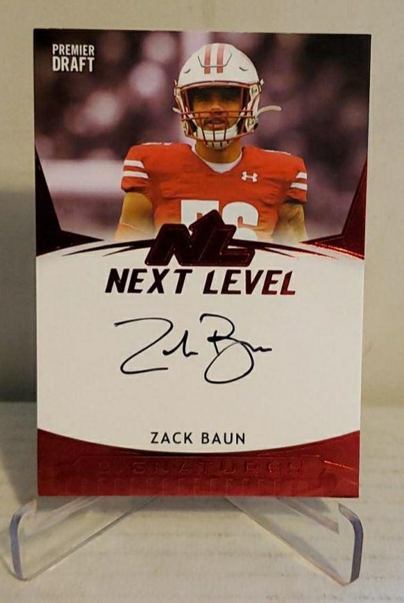 Zack Baun autograph