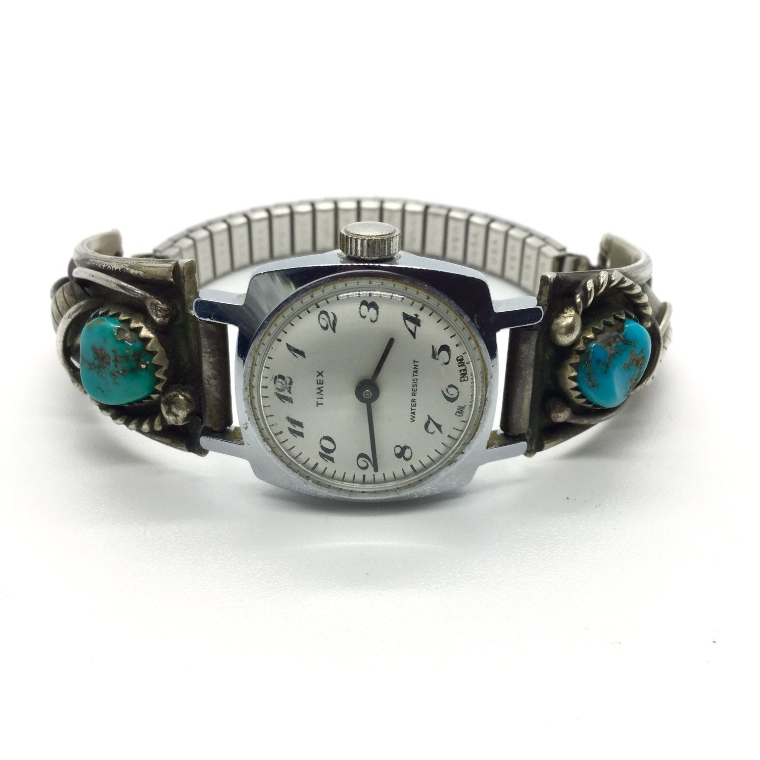 TIMEX MEXICO STERLING TURQUOISE Watch
