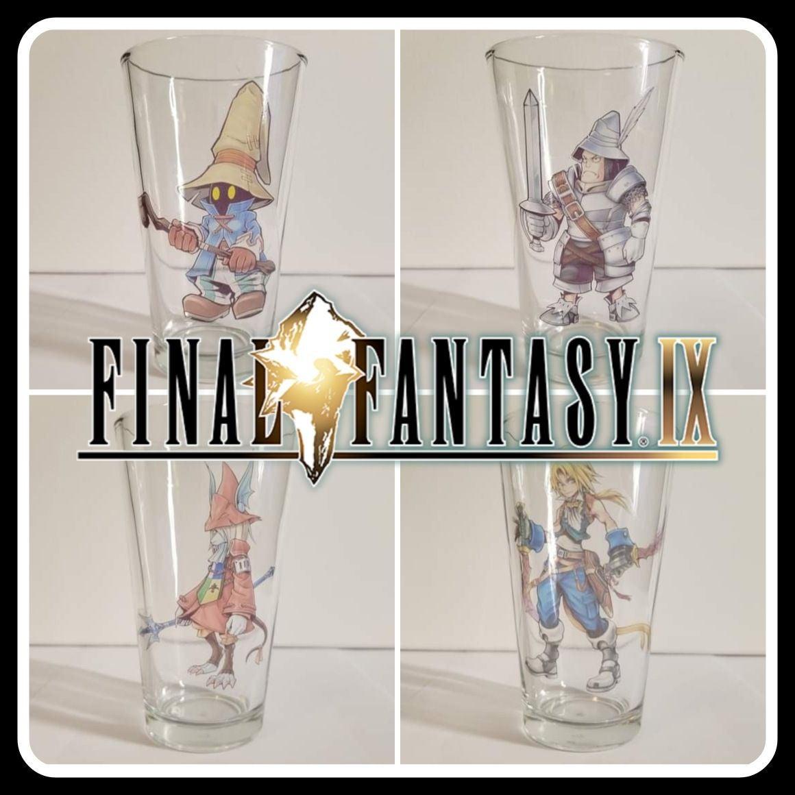 Set of 4 Custom Final Fantasy IX PlaySta