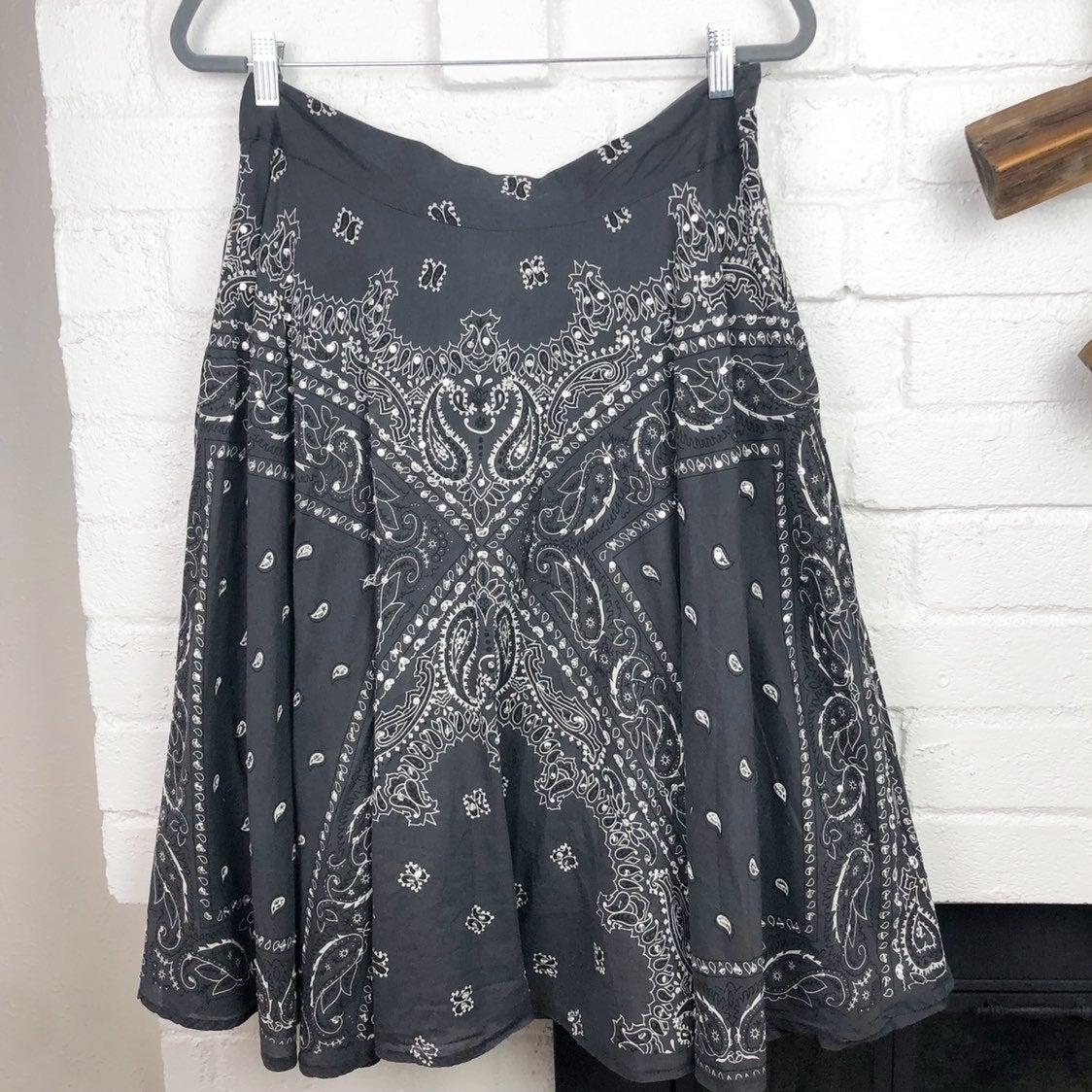 Vintage Forever 21 Bandana skirt
