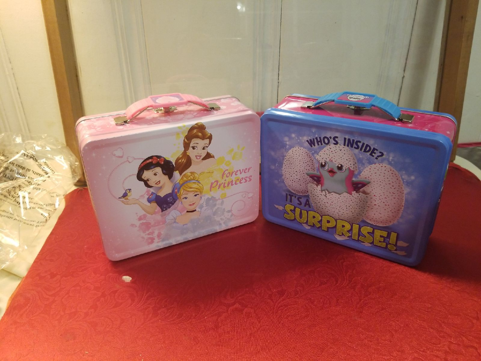 Disney Princess Hatchimals Tin Lunchbox