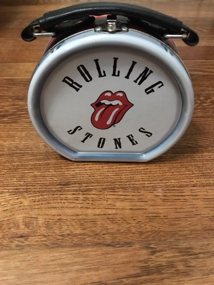 Rolling Stones Round Tin