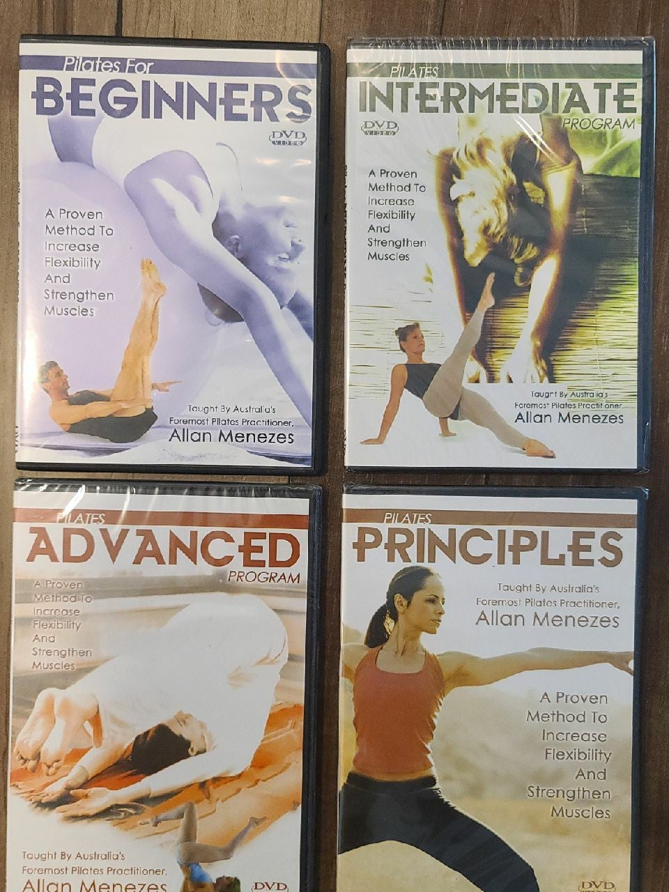 Pilates DVD Lot