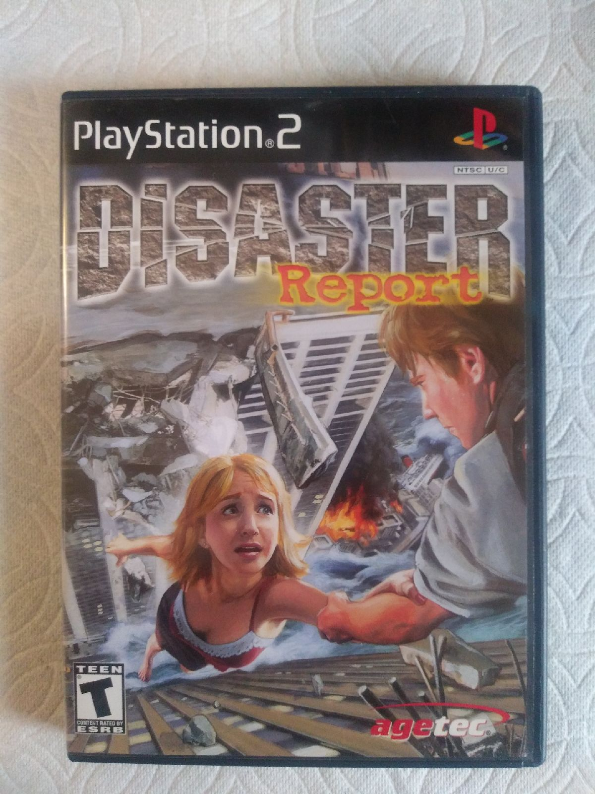 Disaster Report PS2 CIB (Like New)
