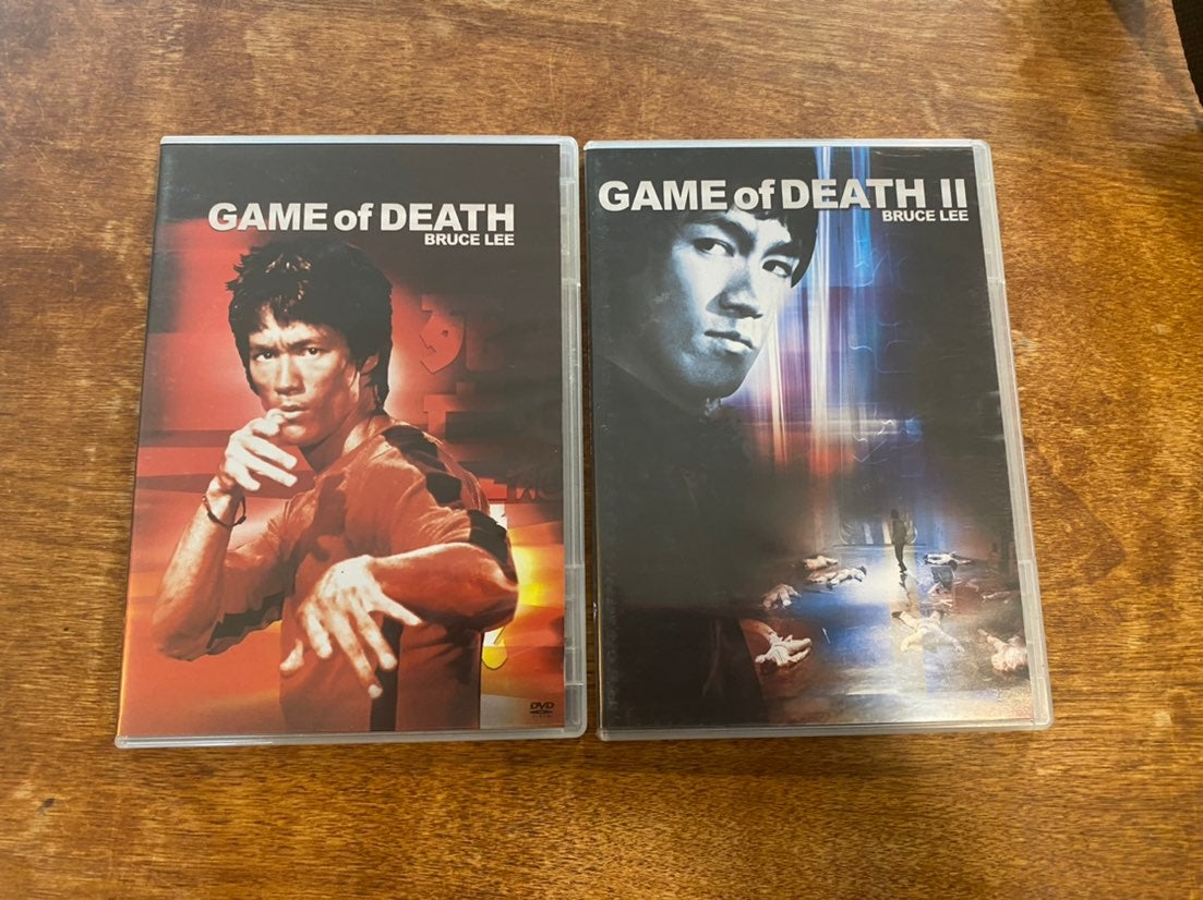 Game Of Death 1 and 2 Bruce Lee DVD