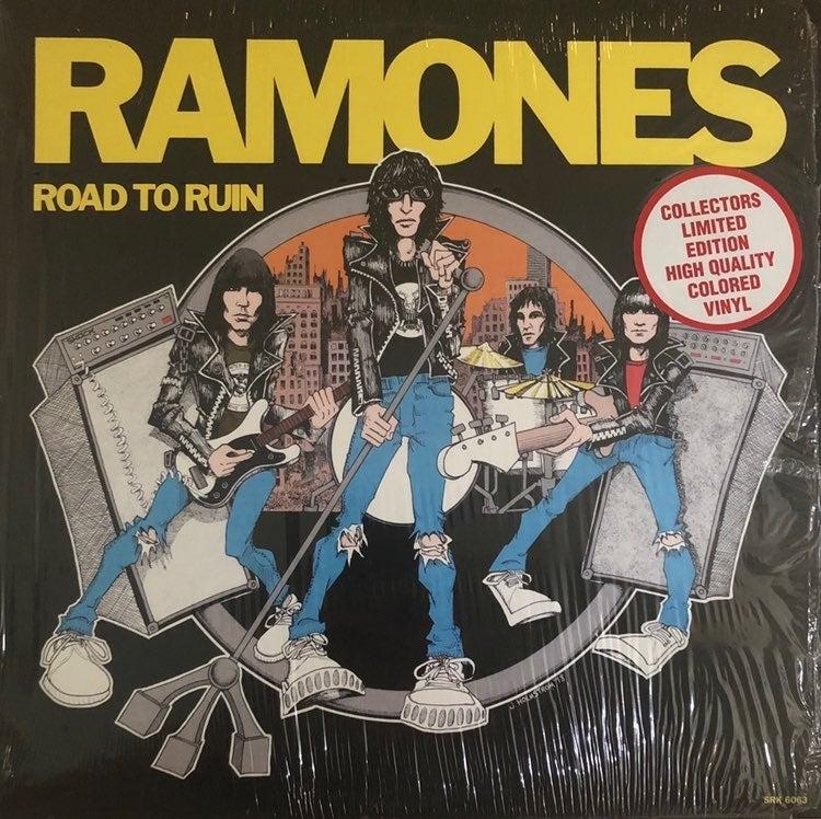 Ramones Vintage Vinyl Record