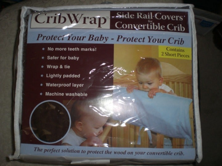 Crib Wrap Rail Covers 3pieces