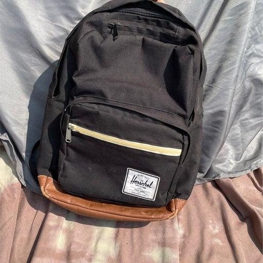 Herschel Pop Quiz Backpack, Black/Black