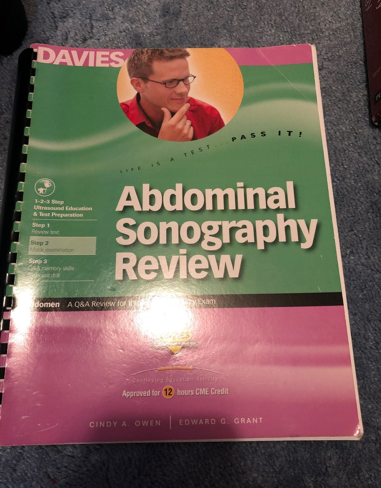 Davies abdominal sonography review book