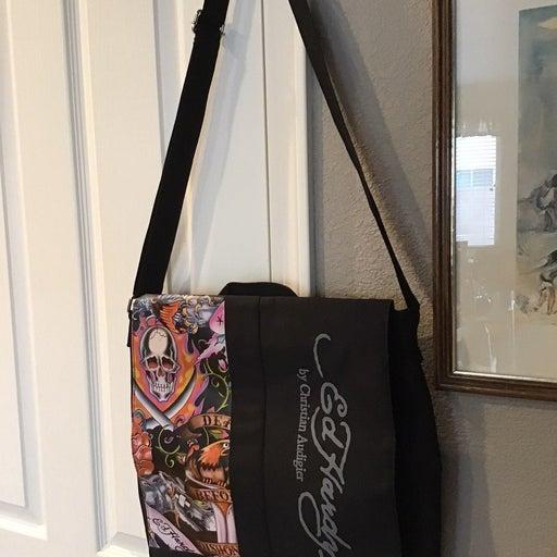 Ed Hardy Cross Body Messenger Bag