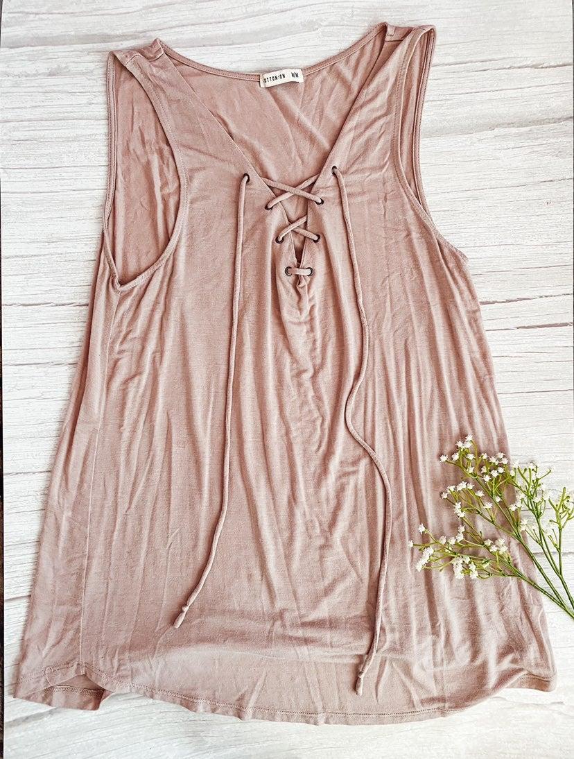 Cotton On Blush Sleeveless Top