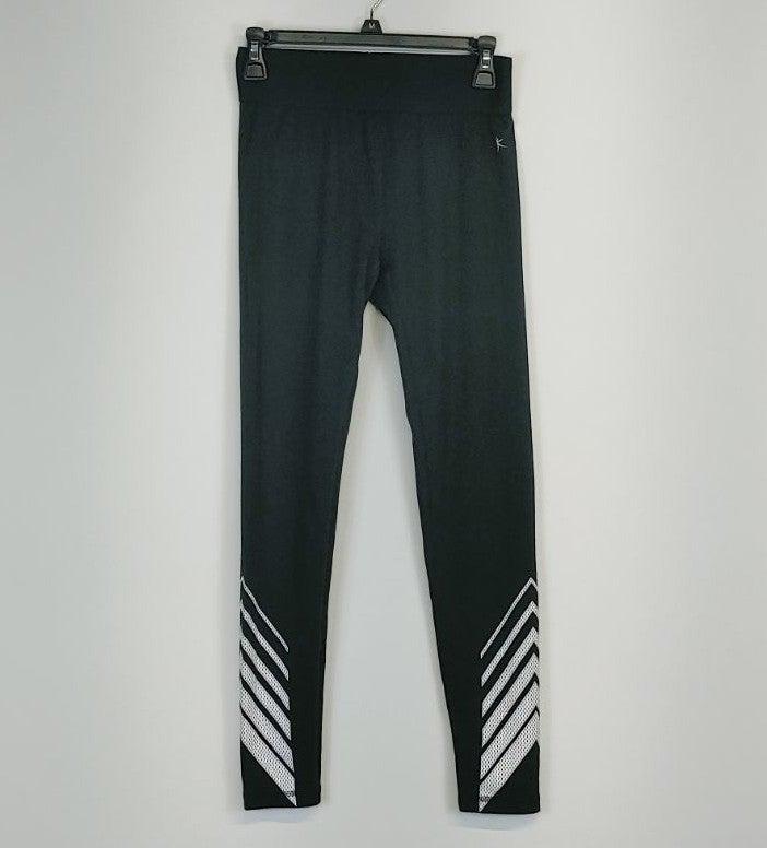 Danskin Now Active Pants Black & White S