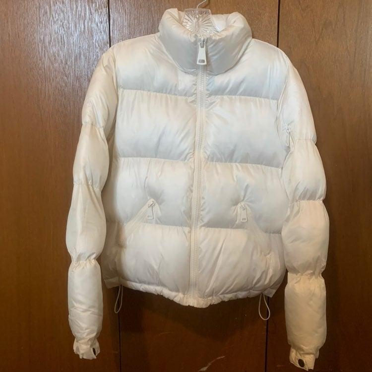 Ci Sono Ivory Puffer Jacket