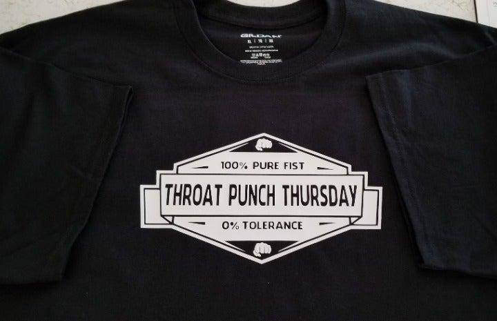 XL Throat Punch Thursday T-shirt NEW
