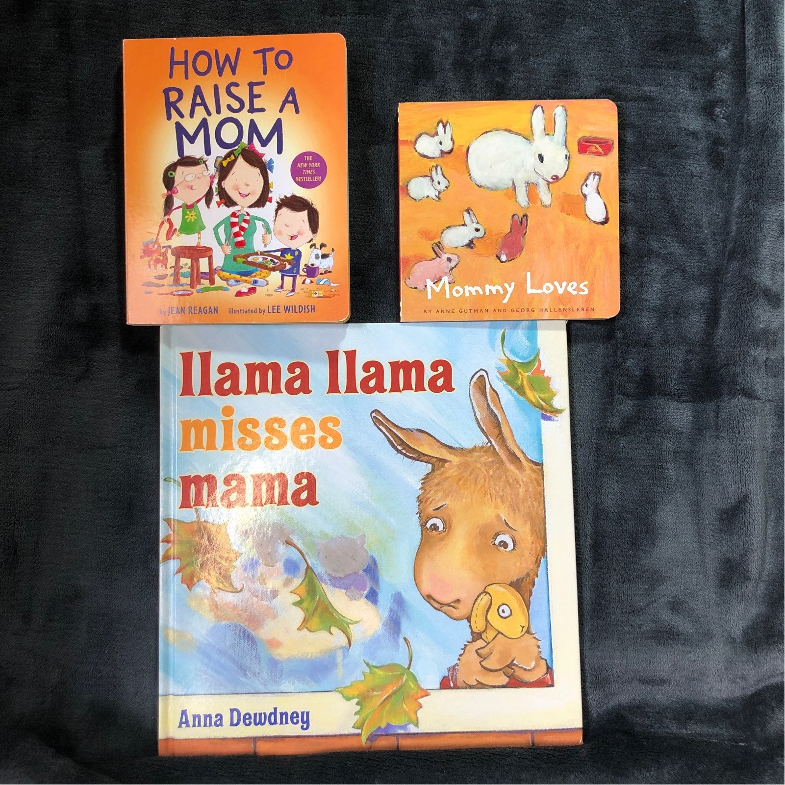 Llama llama Misses Mama and 2 books