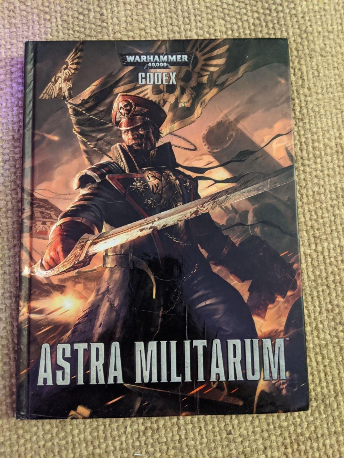 Warhammer 40k Astra militarum 7th editio
