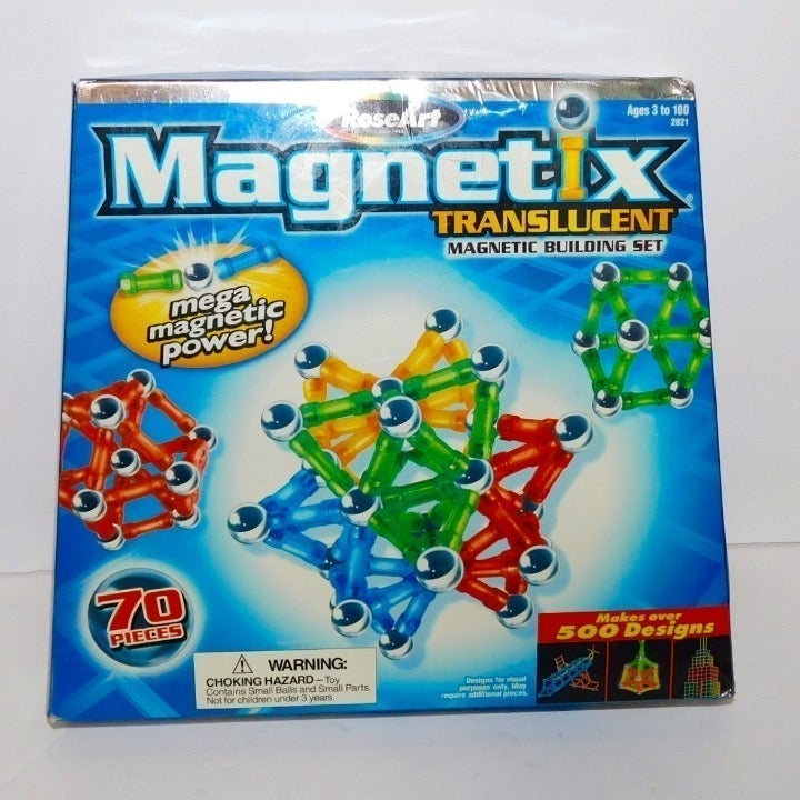 Magnetix Building Set Magnetic Age 4 UP