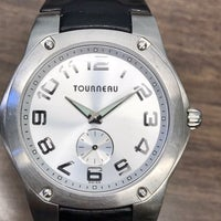 Swiss Made Tourneau Watch