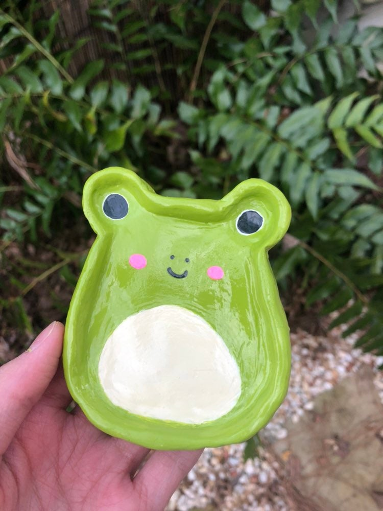 Wendy the Frog Squishmallow jewery dish