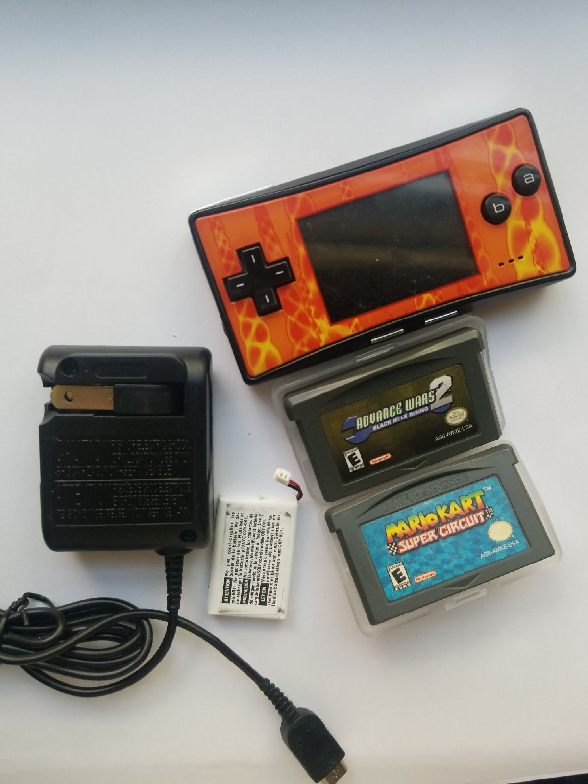 Gameboy micro bundle new battery