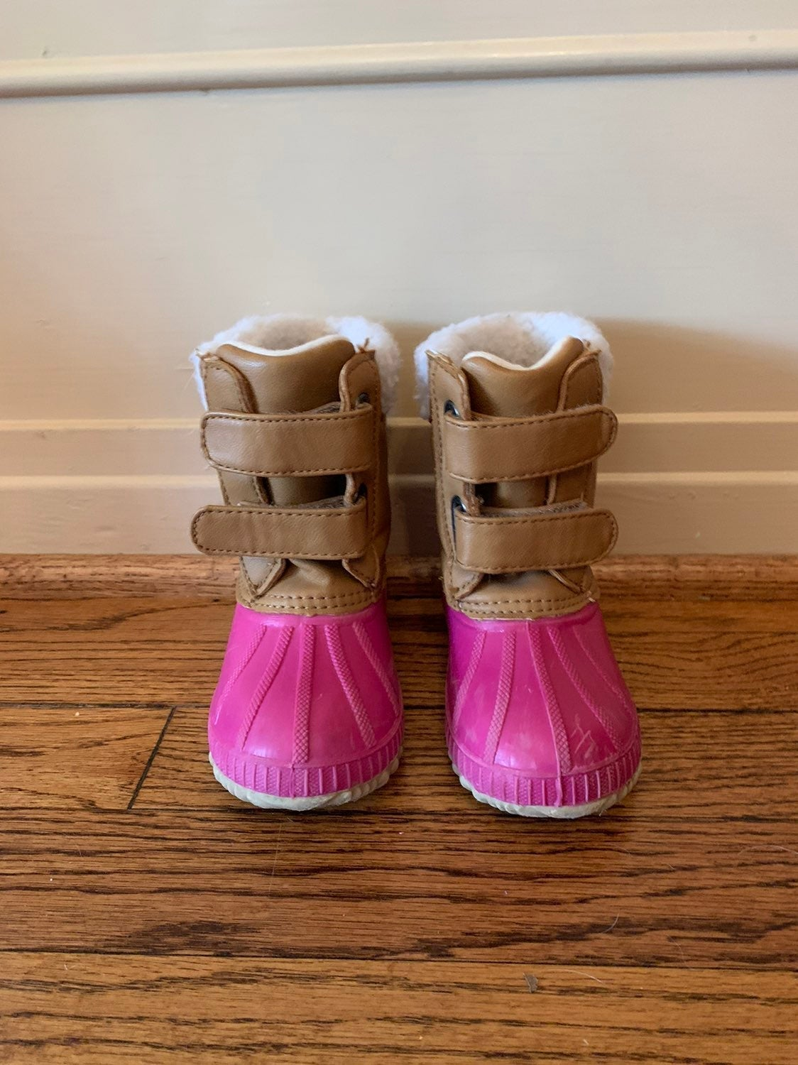 Gap toddler duck boots - pink 7T/8T