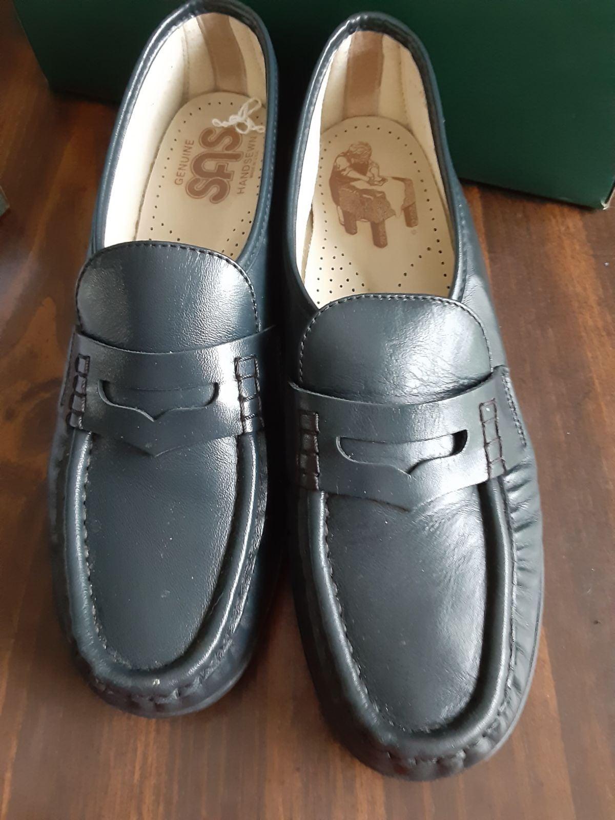 Sas black Loafers slip on