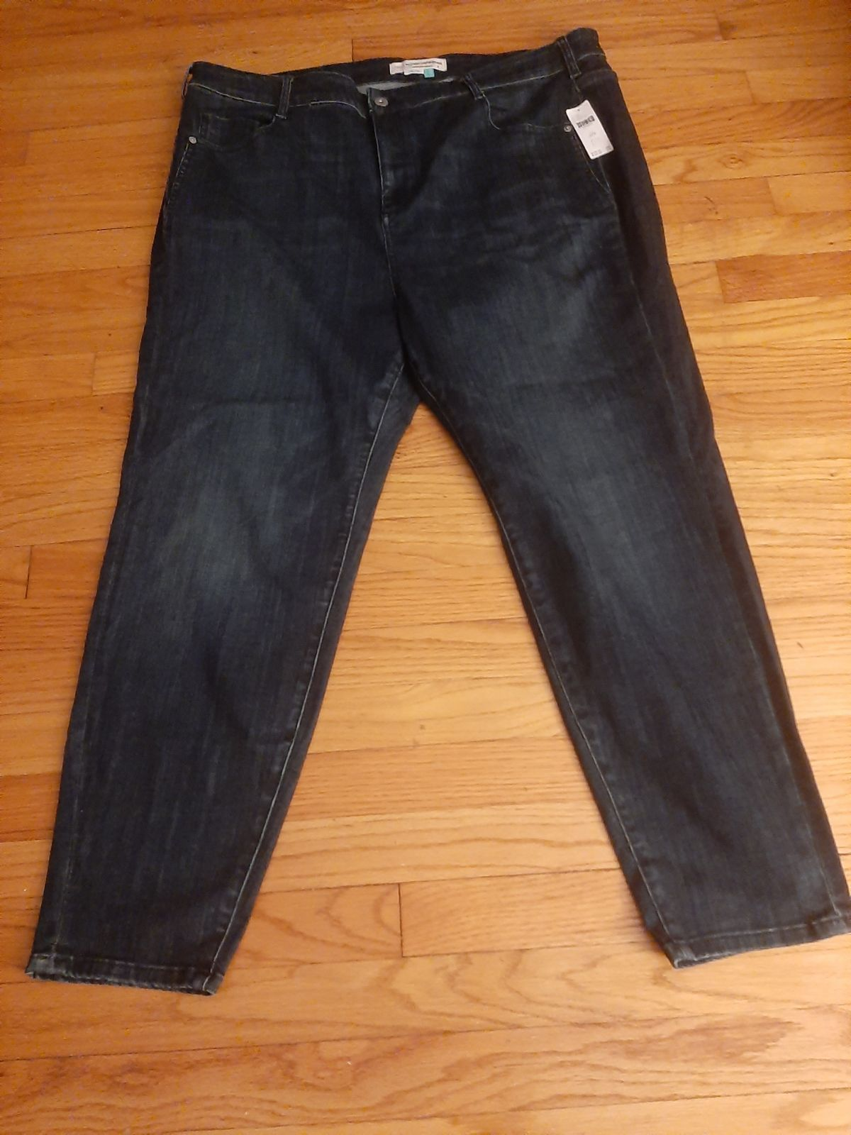 Anthropologie High waisted jeans size 22